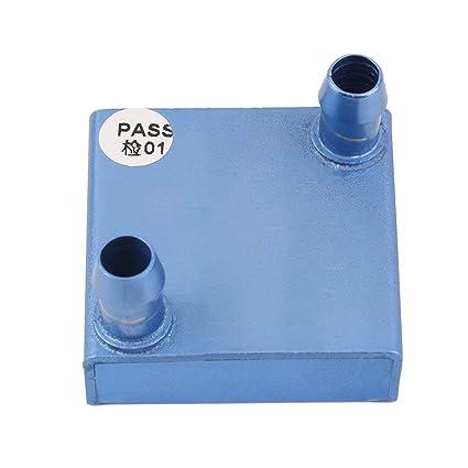 Bloque portátil de la refrigeración por agua 40x40x12m m para el refrigerador de agua de aluminio