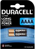 Duracell Ultra - Pila alcalina AAAA x 2