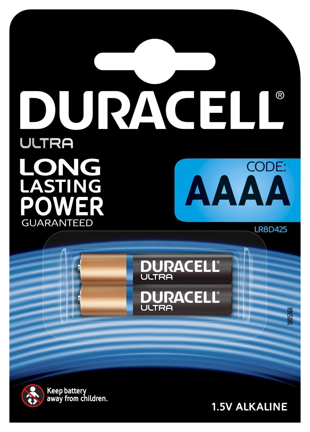 Duracell Ultra - Pila alcalina AAAA x 2 product image