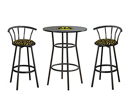 Groovy Amazon Com New Size Counter Height 36 Tall Black Bar Gmtry Best Dining Table And Chair Ideas Images Gmtryco