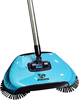 Dracerys 3 in 1 Hand Push Floor Sweeper