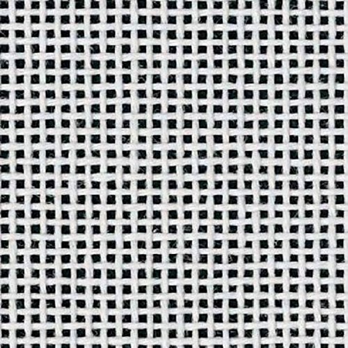 Zweigart Orange Line Blank Mono Deluxe 13-Mesh White Needlepoint Canvas 40 X 36