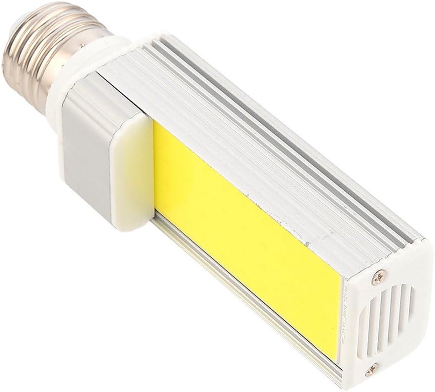 AC 85-265V CNBEAU-LED E27//E26 COB LED Corn Light LED Horizontal Plug Light8W 600-750LM Dimmable Cool White Warm White Size : Cold White