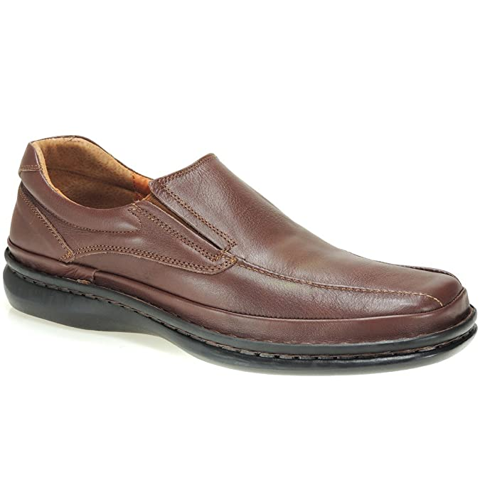 Cactus Mocasín Piel y Confortable Tipo 24 Horas en Tallas Grandes para Hombre: Amazon.es: Zapatos y complementos