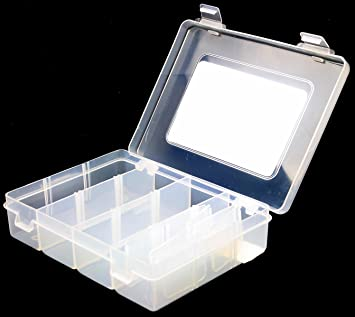 New 12 Section Hobby Craft Storage Box Case For Beads Sewing Tackle