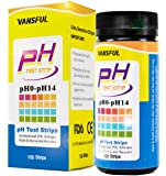 VANSFUL pH Test Strips Kit Pack of 125 - PH 0-14 for testing Urine, Saliva and Universal