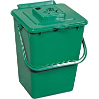 Exaco ECO-2000 PLUS Kitchen Compost Waste Collector and Full Year's Supply of Filters, 2.4 gallon