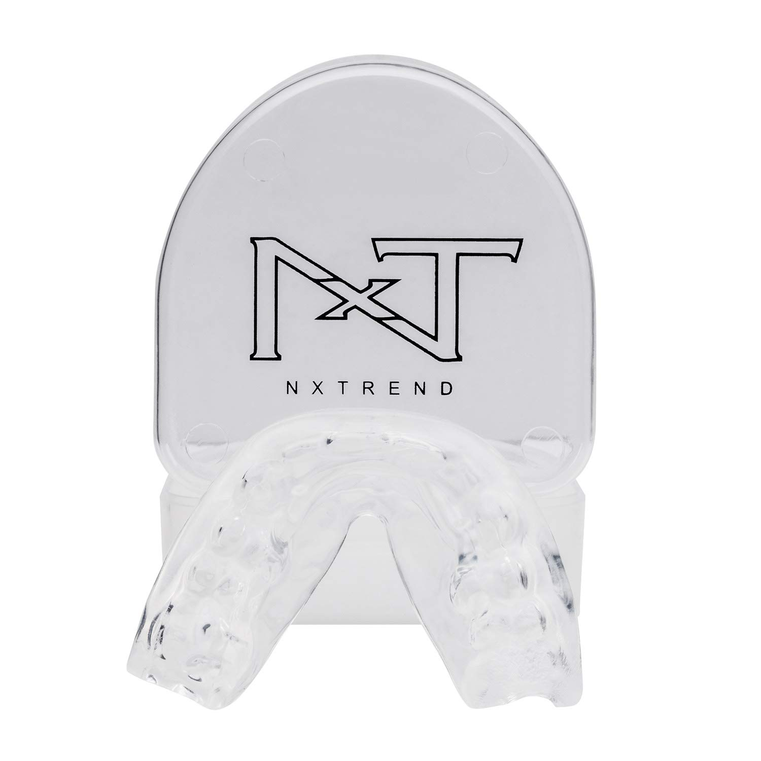 Mouth Guard for Grinding Teeth – Professional Night Guards for Teeth Grinding, Mouth Guard Sports, Dental Sleep Guard Stops TMJ, Bruxism, Teeth Clenching, Anti-Bacterial Case & Earplugs Included by NXTRND USA (Image #8)