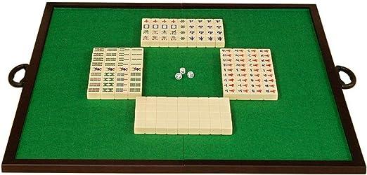 Mahjong Mahjong Mahjong Juego Plegable Simple Encimera y casera Portable Tradicional Mahjong Inicio Entretenimiento Juegos (Color, Size : 3.7x2.8x2.2cm): Amazon.es: Hogar