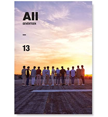 SEVENTEEN - 'Al1' Ver 3 All [13] (4th Mini Album) CD+Photobook+ Official  Group Folded Poster + Extra Gift Sticker and Photocard Set