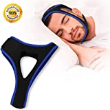 Stop Snoring Chin Strap Effective Snoring Reducing Solution Adjustable Anti Snoring Devices Sleep Aid for Men Women Anti Snoring Chin Strips