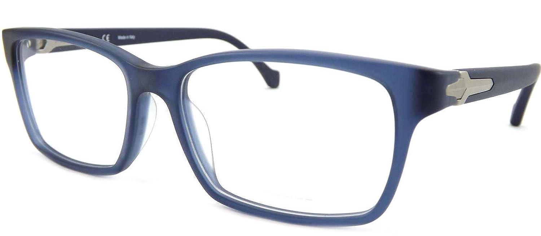 ab8bb30e4fa Police Spring Valley Mens Matt Blue Glasses Frame VPL109 0AGQ   Amazon.co.uk  Clothing