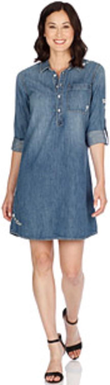 Lucky Brand Womens Popover Dress