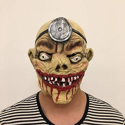 Máscara de capitán Pirata de Terror de Halloween, película de Escenario y Accesorios de Terror