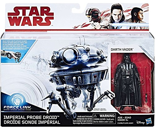 - Star Wars Force Link Imperial Probe Droid & Darth Vader Figure
