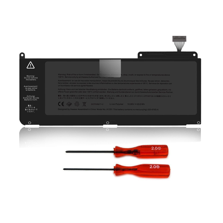 MC516xx//A Series -10.95V 63.5Wh Li-Polymer MC207xx//A y A1342 MacBook 7,1 Bater/ía de Repuesto A1331 para APPLE A1342 Unibody 13 A1342 MacBook 6,1 Mediados-2010 Finales-2009