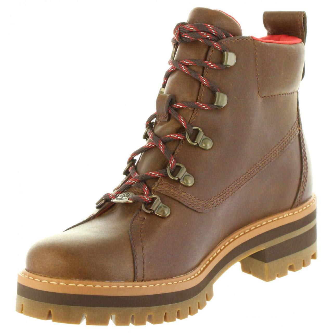 Timberland Stiefel für Damen A1RS7 COURMAYEUR Dark Brown Schuhgröße 37   Amazon.de  Schuhe   Handtaschen b9ee1e8657