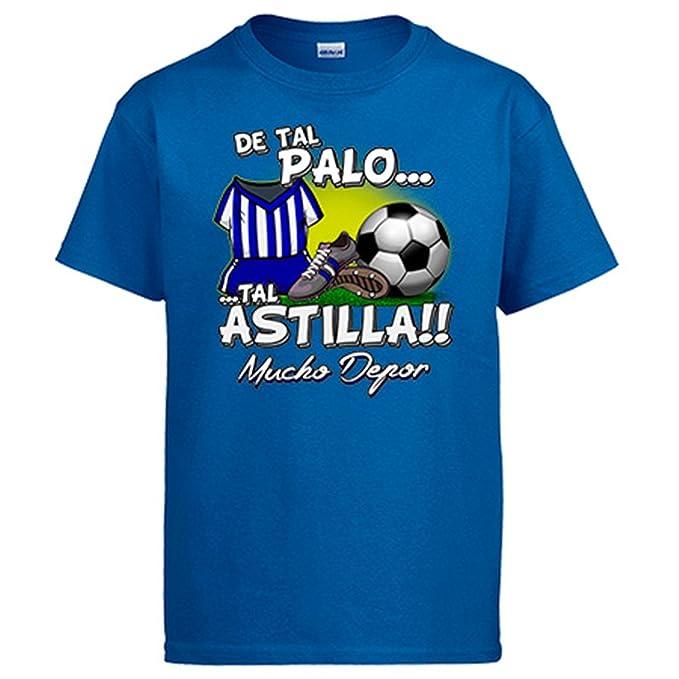 Camiseta De tal palo tal astilla Depor fútbol: Amazon.es: Ropa y accesorios