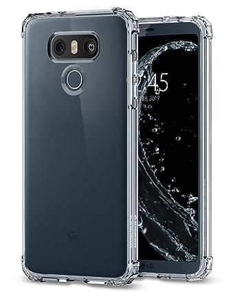 best service 1fda9 75333 LG V20 Case, Spigen® [Crystal Shell] Extra Shock-Absorb [Crystal Clear]  Clear back panel + Engineered TPU bumper for LG V20 (2016), LG V20 Phone ...