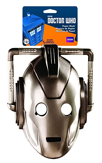 Elope Doctor Who Cyberman Paper Mask