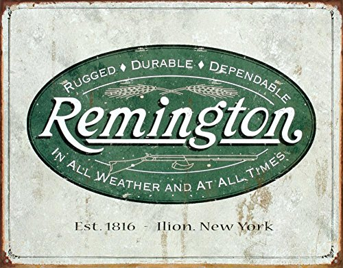 Remington Hunting Weather Distressed Vintage product image