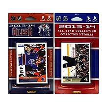 NHL Edmonton Oilers Licensed 2013-14 Score Team Set and All Star Card Set