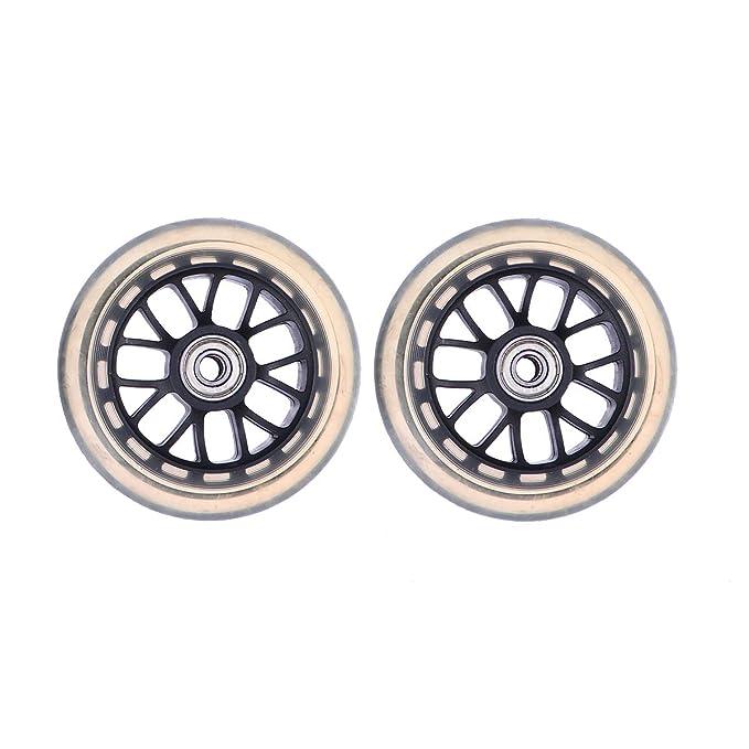 VORCOOL Scooter Wheels, Ruedas de Repuesto de 100 mm de PU ...