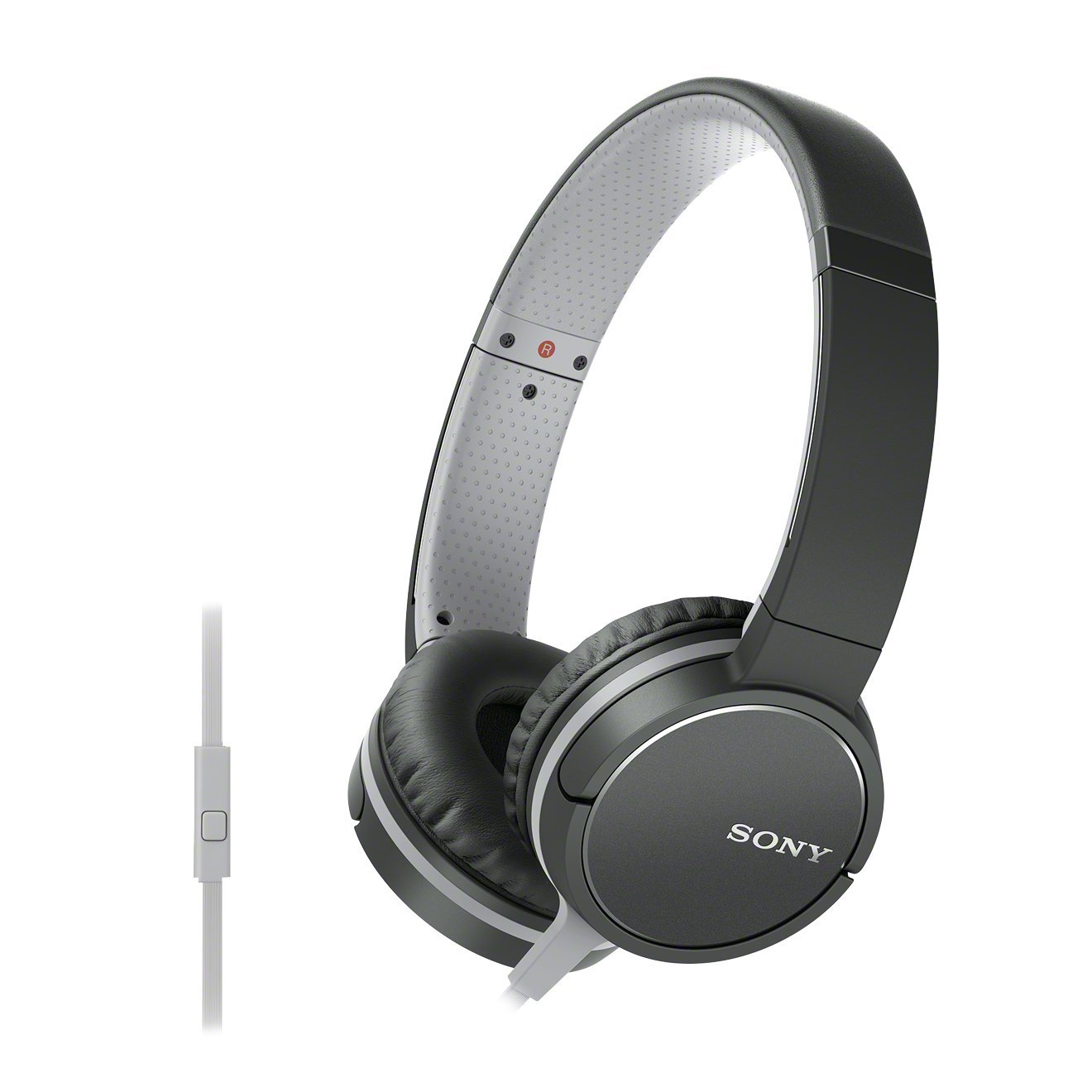 Sony MDR-ZX660AP Lightweight On-Ear Headphone with: Amazon.co.uk:  Electronics