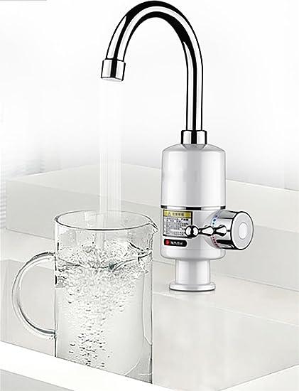 Calentador De Agua EléCtrico Cocina Calentador InstantáNeo De Agua Caliente Grifo De Agua EléCtrico Calentador InstantáNeo