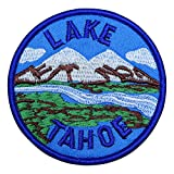 #10: Lake Tahoe Patch - Mountain, Valley, and River (Iron on)
