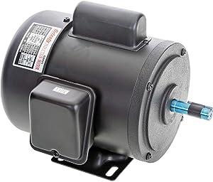 Grizzly Industrial G2531 - Heavy-Duty Motor 3/4 HP Single-Phase 3450 RPM TEFC 110V/220V