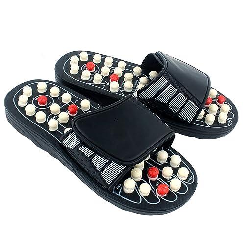74749f39e520b Xlight.ca Unisex Foot Massage Slippers Shoes, Rotating Accupressure ...