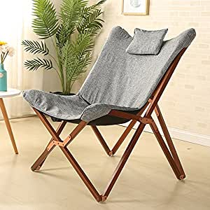 Amazon.com: Zayty XRXY Silla plegable de madera maciza ...
