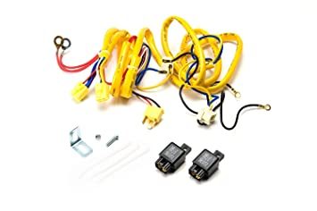 Putco 230004HW Premium Automotive Lighting H4 100W Heavy Duty Wiring on