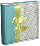 MBI 100 Pockets Fabric Album with Bow, 6.75'' by 6.75''
