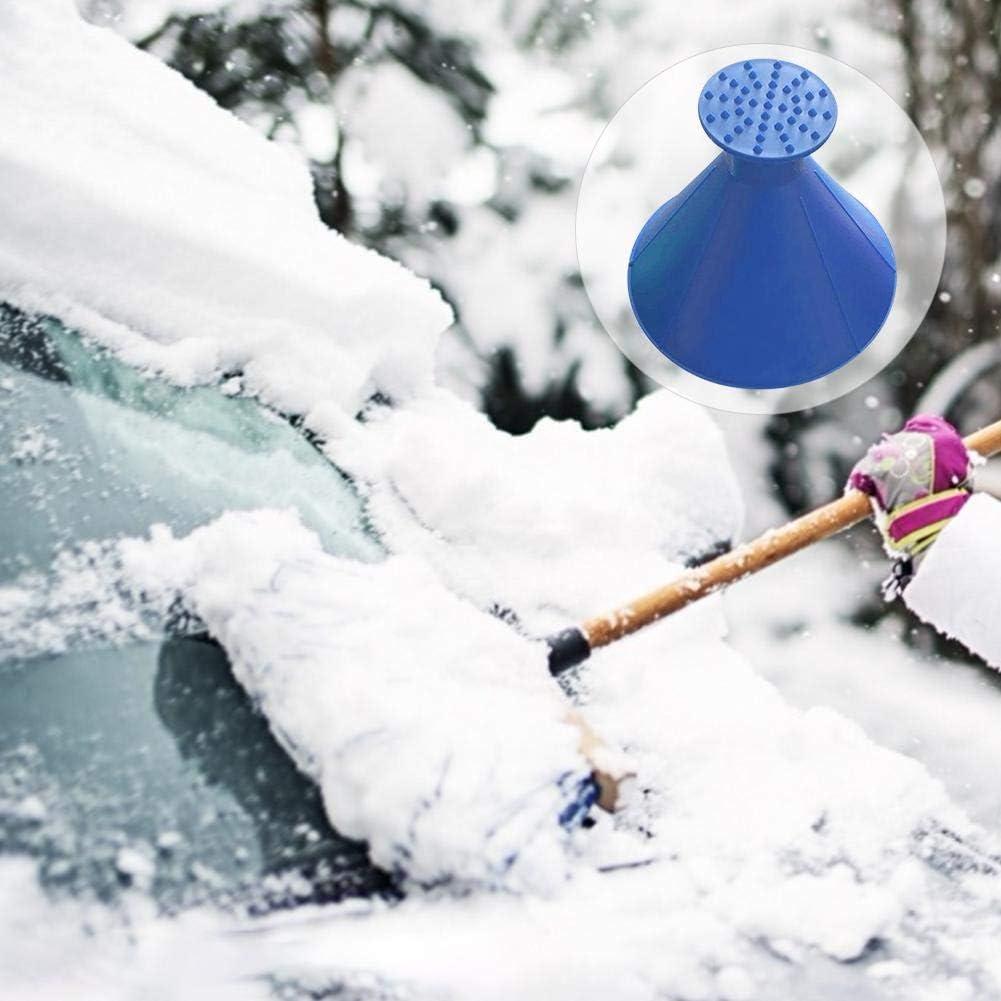 Multi-Function Automotive Glass Snow Remover Macddy Scrape Around Ice Scraper