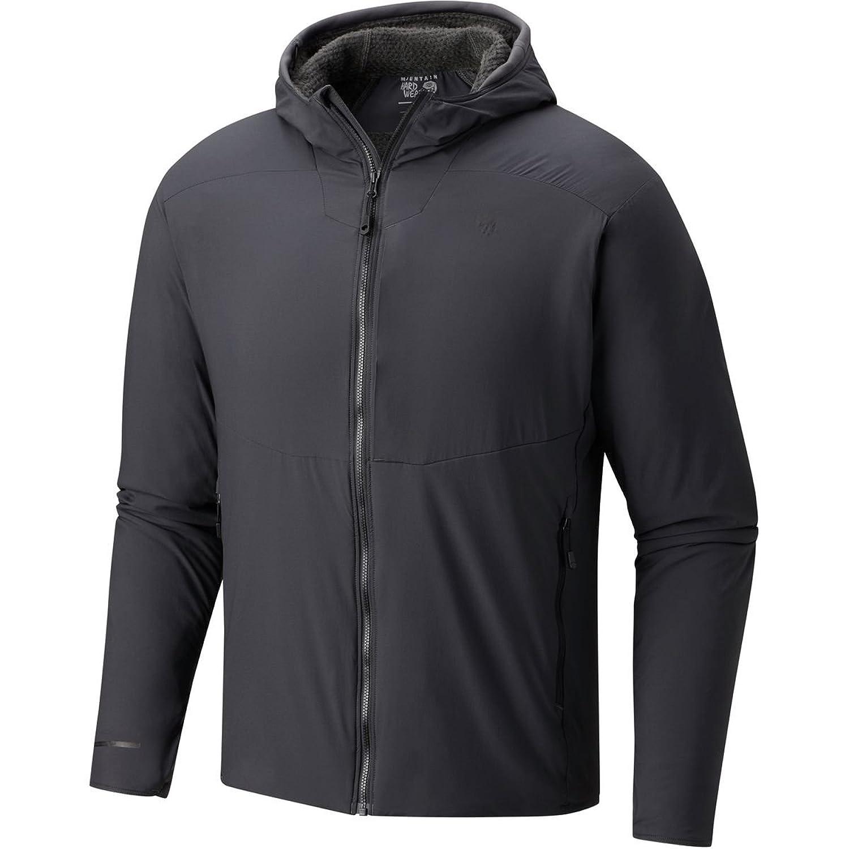 マウンテンハードウェア アウター ジャケット&ブルゾン ATherm Insulated Hooded Jacket Men's Shark kkj [並行輸入品] B076C5DMMN S