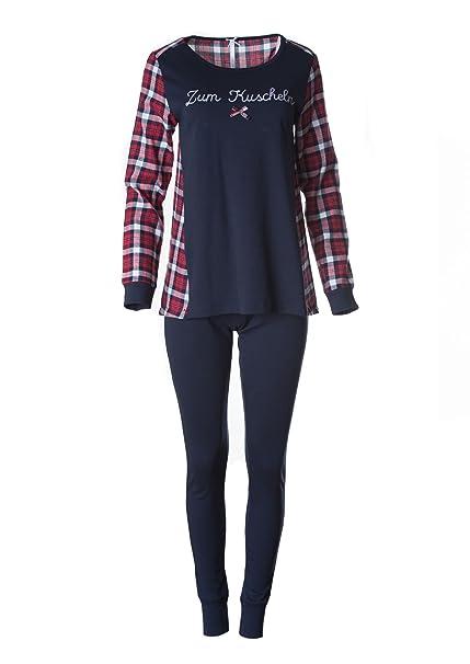 Louis & Louisa - Pijama - para mujer azul S