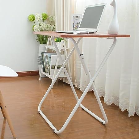 mesa plegable ZZHF Mesa Cuadrada/Escritorio Plegable/Mesa de ...