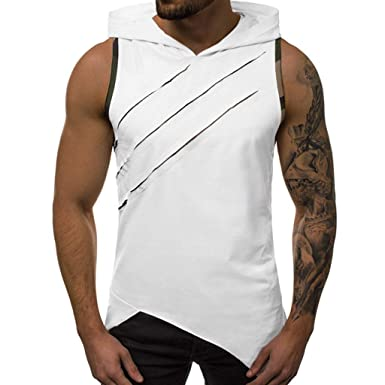 ♥Blling♥ Debardeur♥ Fitness Musculation Homme,