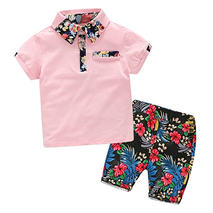 Blaward Baby Kinder Jungen Outfits Hawaii Sommer Kleidung Sets ...