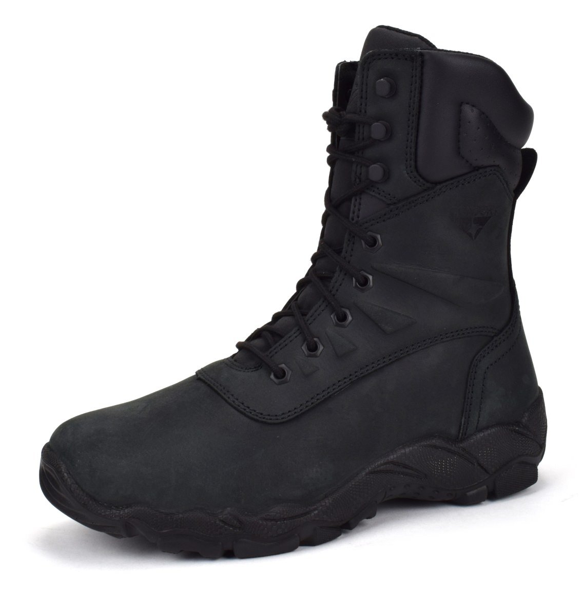 CONDOR Dakota Men's 8'' Steel Toe Work Boot - Black Nubuck, Size 11 E US