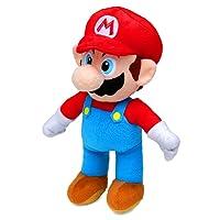 Super Mario(30cm) & Yoshi(27cm) Plush,Soft Toys,Original,2 Characters Available! (Super Mario)