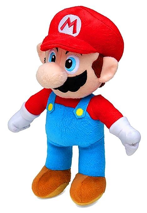 Amazon.es: Super Mario (30cm) y Yoshi (27cm) ¡Peluche, juguetes suaves, original, 2 caracteres disponibles! (Super Mario_plush_30cm): Juguetes y juegos