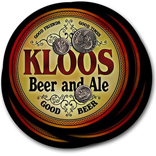 Kloosビール& Ale – 4パックドリンクコースター   B003QXAPLW