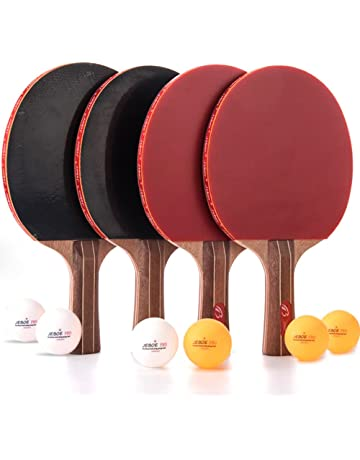 43be66fa3c9b Jebor Professional Ping Pong Paddle Advanced Trainning Table Tennis Racket  with Carry Case