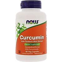Now Foods Curcumin, Veg Capsules, 60ct