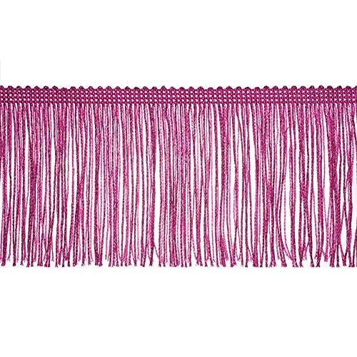 "Decorative Trimmings 100% Rayon Chainette Fringe, 4"" x 9 ..."