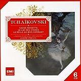 Tchaïkovski : Le Lac des cygnes - La Belle au bois dormant -  Casse-noisette  (Coffret 6 CD)