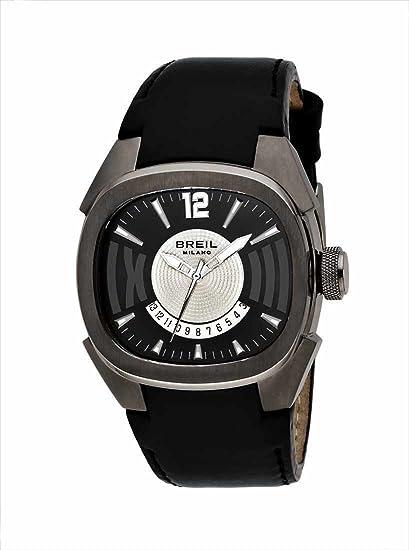 Breil BW0312 - Reloj de caballero de cuarzo, correa de piel color negro